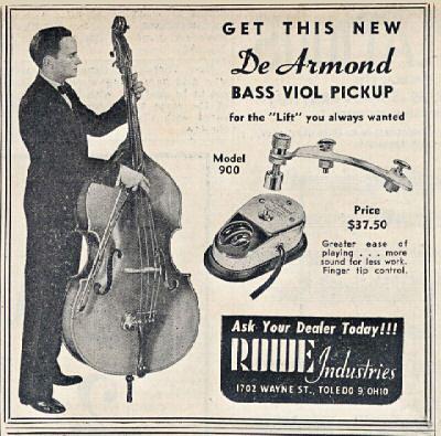 DeArmond-Werbung von 1948