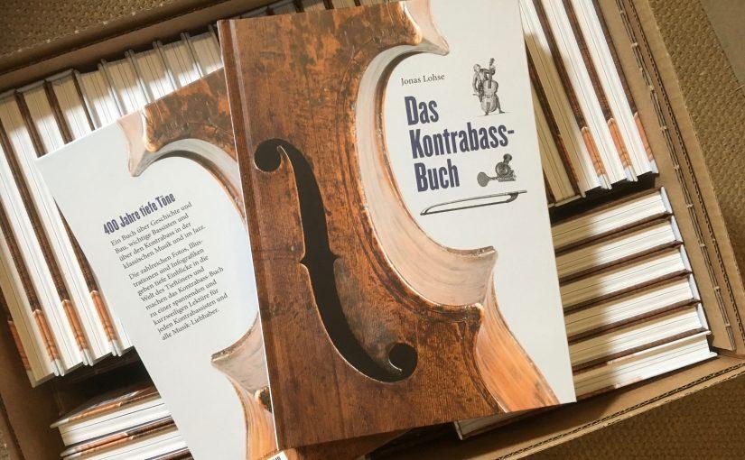 Frisch aus der Druckerei: Das Kontrabass-Buch